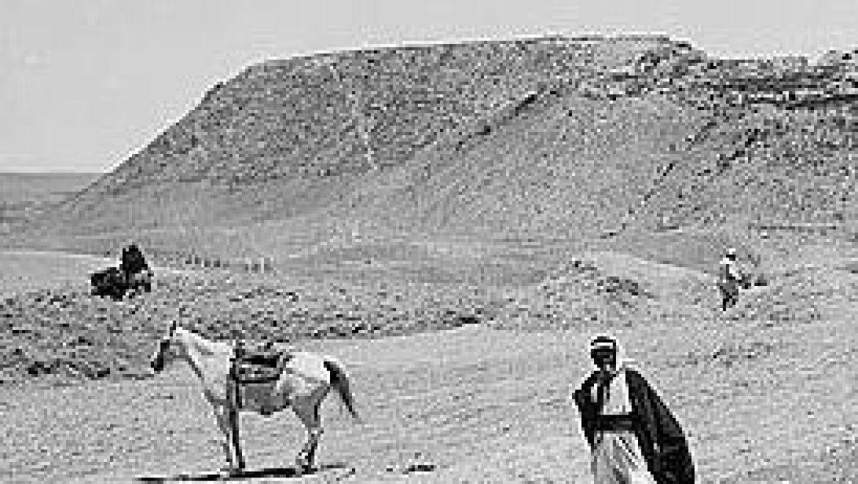 ישובי-קבע וישובי-ארעי בדרום חבל הבשור התחתי: שני מקרי – מבחן