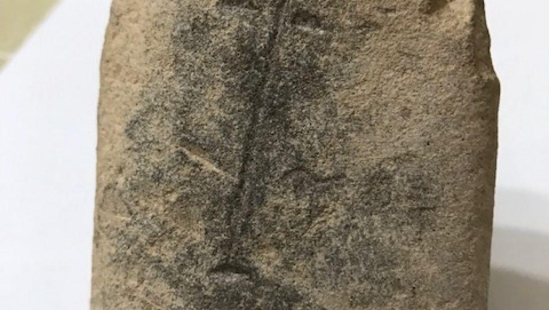 פרצוף בחול (צלמית מהתרבות הכַּבָּארית-הגיאומטרית)