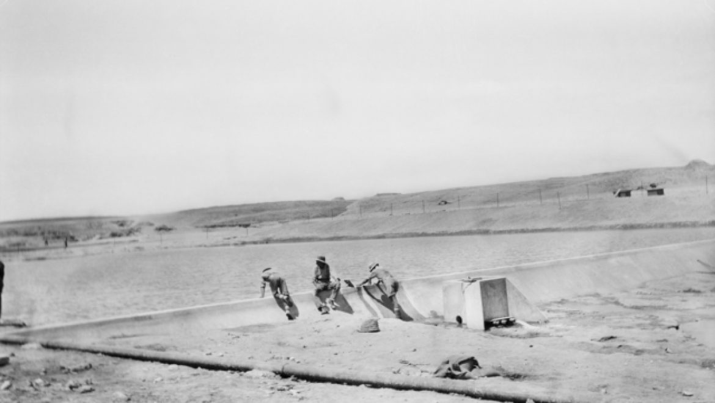 פארק אשכול-הבשור: סקר שרידים מימי המלחמה העולמית הראשונה