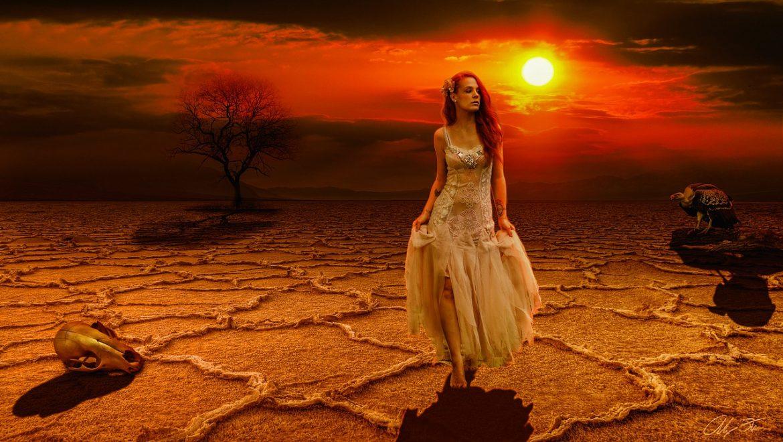 גלמודה בלב המדבר