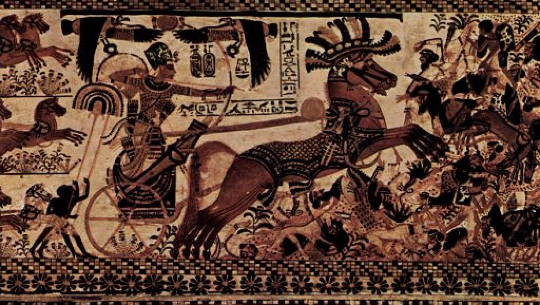 """""""הצבא חזר בשלום מארץ דָּרֵי החולות"""" (מתוך האֶפִּיטָף* של אוּני, מצביא מצרי, 2300 לפנה""""ס)"""